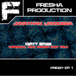 LANDOSSA, Jonathan - Fresh EP 1 (Back Cover)