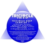 SLIM/SWIFT/MELCHYOR A/DJ RICO - TriCircle Deep Sampler 1 (Front Cover)
