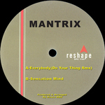 MANTRIX - Everybody (Back Cover)