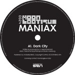 MANIAX - Dark City (Front Cover)