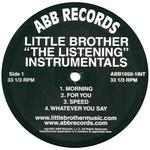 LITTLE BROTHER - The Listening Instrumentals (Front Cover)