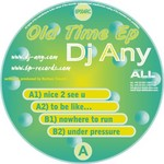 DJ ANY - Old Time EP (Front Cover)