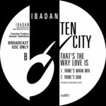 TEN CITY - That's The Way Love Is (Back Cover)