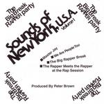 BROWN, Peter/VARIOUS - Sounds of New York USA Volume 1 (Front Cover)