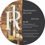 MR DE - Believe In Soul EP (Front Cover)