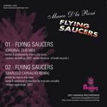D'LA ROSSI, Marco - Flying Saucers (Back Cover)