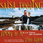 LE M, Jimmy/LA CLAVE DE LONDRES - Salsa Feeling (Front Cover)