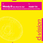 WOODY B feat BRENT ST CLAIR - Holdin' On (Back Cover)