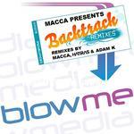 MACCA - Backtrack (remixes) (Front Cover)