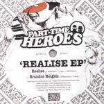 PART TIME HEROES - Realise EP (Front Cover)