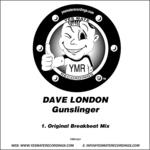 LONDON, Dave - Gunslinger (Front Cover)