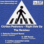 PADURARU, Cristian  - Right Side Up (The Remixes) (Back Cover)