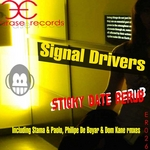 SIGNAL DRIVERS - Sticky Date Rerub (Front Cover)