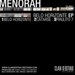 MENORAH - Belo Horizonte EP (Back Cover)