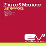 2TRANCE/MOONFORCE - Just Few Words (Back Cover)