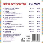 STAR SOUNDS ORCHESTRA - Psy Force (Back Cover)