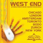 VARIOUS - West End International Music Search 2003-2004 Top 10 (Front Cover)