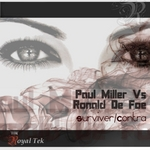 MILLER, Paul vs RONALD DE FOE - Surviver (Front Cover)