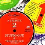 VARIOUS - A Tribute 2 Studio One & Treasure Island Records (Front Cover)
