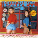 VARIOUS - The Latin House Party 4 (Front Cover)