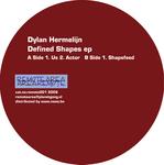 HERMELIJN, Dylan - Defined Shapes EP (Front Cover)