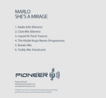 MARLO - She's A Mirage  (Back Cover)