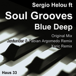 HELOU, Sergio feat SOUL GROOVES - Blue Deep (Front Cover)