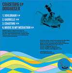 DOGMIXER - Coasting EP (Back Cover)