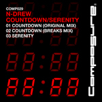 N DREW - Countdown EP (Front Cover)