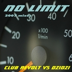 CLUB REVOLT vs DZIDZI - No Limit 2007 (Front Cover)