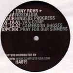 ROHR, Tony - Nostalgia Hinders Progress EP (Front Cover)