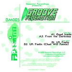 GROOVE FEDERATION - Groove Federation EP (Front Cover)