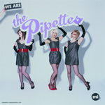 PIPETTES, The - We Are The Pipettes (Front Cover)