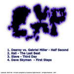 DEEROY vs GABRIEL MILLER/KALI/SLAVE/DAVE SKYMAN - Experience Tracks Vol 02 (Back Cover)