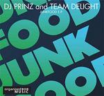 DJ PRINZ/TEAM DELIGHT  - Junkfood EP (Back Cover)
