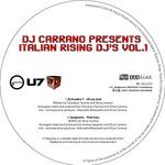DJ Carrano presents Italian Rising DJ's Vol 1