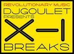 DJ GOULET - DJ Goulet Presents X 1 Breaks: Volume 2 (Front Cover)