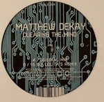 DEKAY, Matthew - Clearing The Mind (Front Cover)