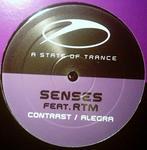 SENSES feat RTM - Contrast (Front Cover)