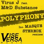 VIRUS J feat M&D SUBSTANCE - Polyphony (Front Cover)