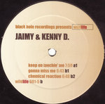 JAIMY & KENNY D - Keep On Touchin Me (Front Cover)