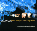 BE ANGEL - Each Time You Break My Heart (Back Cover)