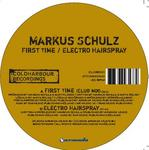 SCHULZ, Markus feat ANITA KELSEY - First Time (Front Cover)