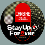 CARBINE - We Are The Ravers (Front Cover)