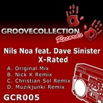 NOA, Nils  - X Rated (Front Cover)