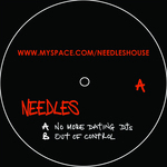 NEEDLES - No More Dating DJs (Back Cover)