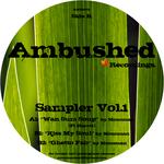 MONOMAN  - Sampler Vol 1 (Back Cover)