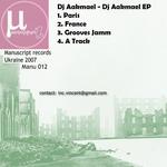 DJ AAKMAEL - DJ Aakmael EP (Back Cover)