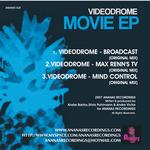 VIDEODROME - Movie EP (Back Cover)