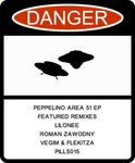 PEPPELINO - Area 51 EP (Front Cover)